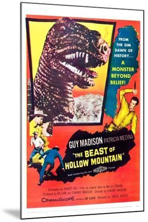 The Beast of Hollow Mountain--Mounted Art Print