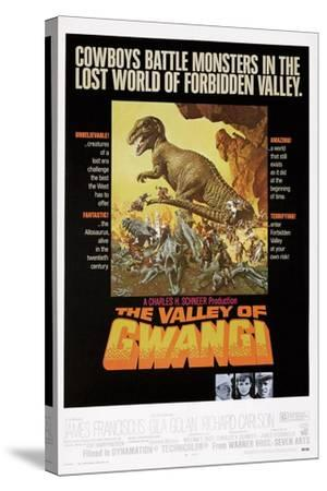 The Valley of Gwangi--Stretched Canvas Print