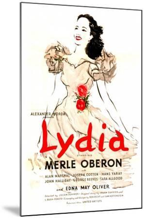 Lydia--Mounted Art Print