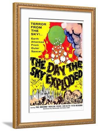 The Day the Sky Exploded--Framed Art Print