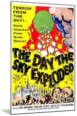 The Day the Sky Exploded--Mounted Art Print