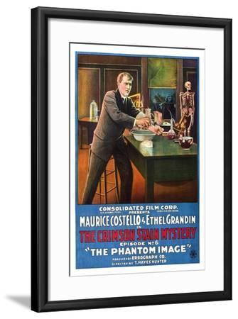 The Crimson Stain Mystery--Framed Art Print