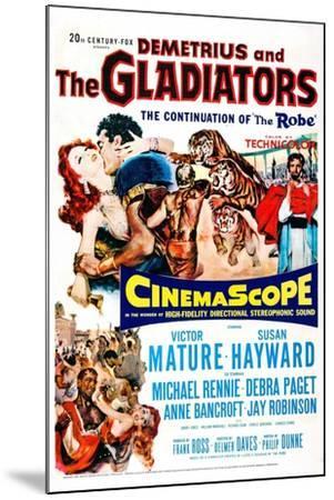 Demetrius and the Gladiators--Mounted Art Print
