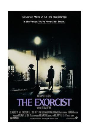 The Exorcist--Framed Art Print
