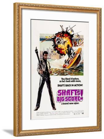 Shaft's Big Score!--Framed Art Print