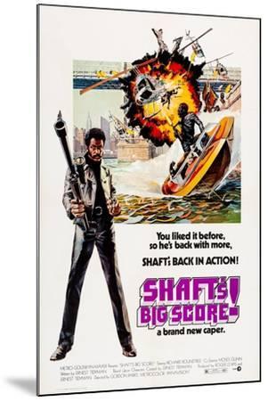 Shaft's Big Score!--Mounted Art Print