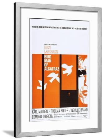 Birdman of Alcatraz--Framed Art Print