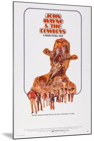 The Cowboys--Mounted Art Print