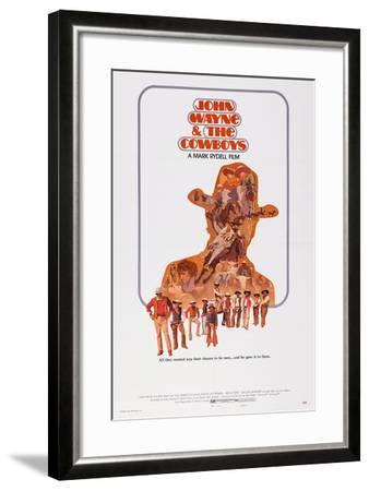 The Cowboys--Framed Art Print