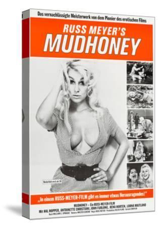 Mudhoney--Stretched Canvas Print
