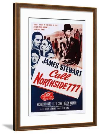 Call Northside 777--Framed Art Print