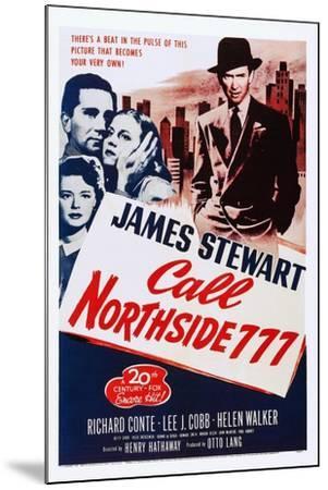 Call Northside 777--Mounted Art Print