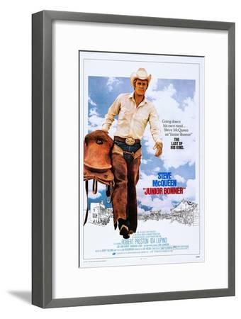 Junior Bonner--Framed Premium Giclee Print