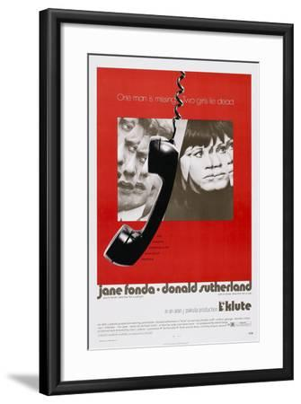 Klute--Framed Art Print