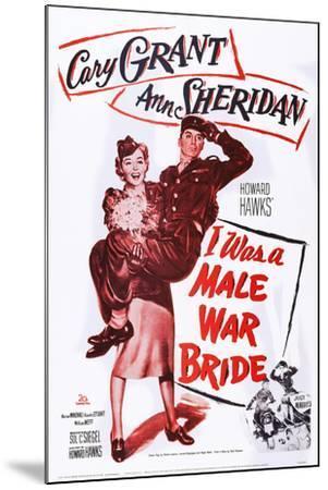 I Was a Male War Bride--Mounted Art Print