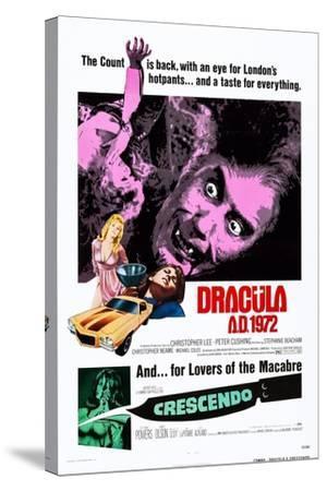 Dracula A.D., 1972--Stretched Canvas Print