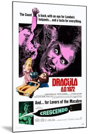 Dracula A.D., 1972--Mounted Art Print