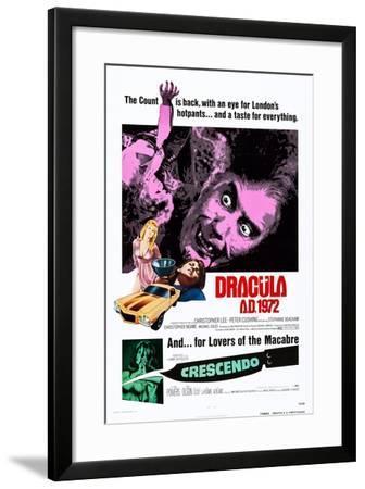 Dracula A.D., 1972--Framed Art Print