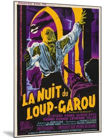 The Curse of the Werewolf (aka La Nuit Du Loup-Garou)--Mounted Art Print