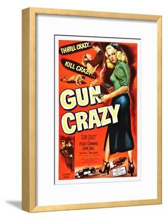 Gun Crazy--Framed Art Print