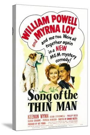 Song of the Thin Man--Stretched Canvas Print