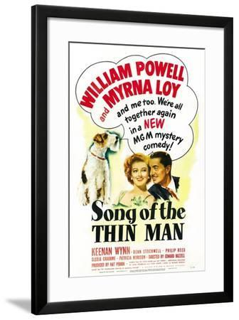 Song of the Thin Man--Framed Art Print