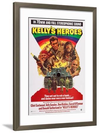 Kelly's Heroes--Framed Art Print