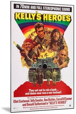 Kelly's Heroes--Mounted Art Print
