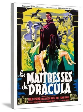 The Brides of Dracula (aka Les Maitresses De Dracula)--Stretched Canvas Print
