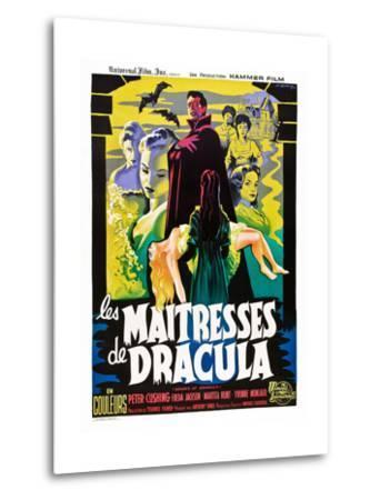 The Brides of Dracula (aka Les Maitresses De Dracula)--Metal Print