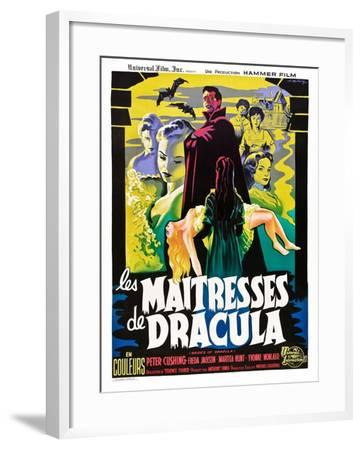 The Brides of Dracula (aka Les Maitresses De Dracula)--Framed Art Print