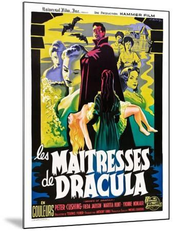 The Brides of Dracula (aka Les Maitresses De Dracula)--Mounted Art Print