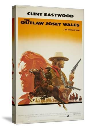 The Outlaw Josey Wales--Stretched Canvas Print