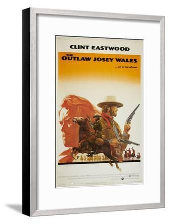 The Outlaw Josey Wales--Framed Premium Giclee Print