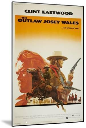 The Outlaw Josey Wales--Mounted Premium Giclee Print