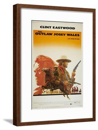 The Outlaw Josey Wales--Framed Art Print