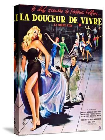La Dolce Vita--Stretched Canvas Print