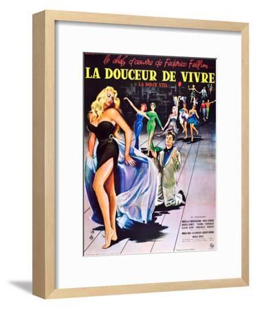 La Dolce Vita--Framed Art Print