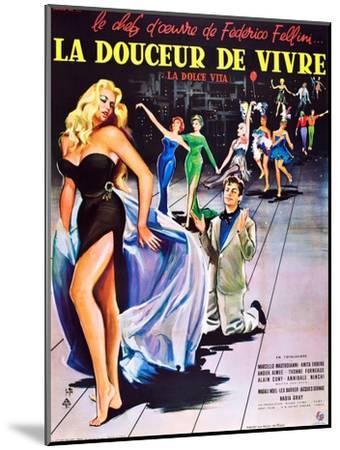 La Dolce Vita--Mounted Art Print