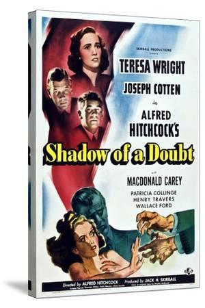 Shadow of a Doubt--Stretched Canvas Print