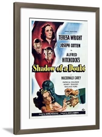 Shadow of a Doubt--Framed Art Print