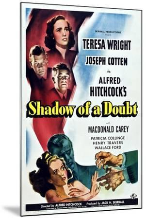 Shadow of a Doubt--Mounted Art Print