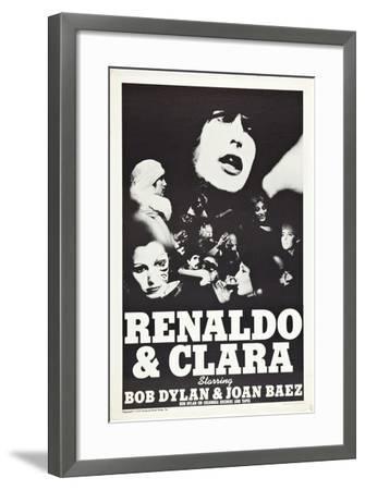 Renaldo and Clara--Framed Art Print