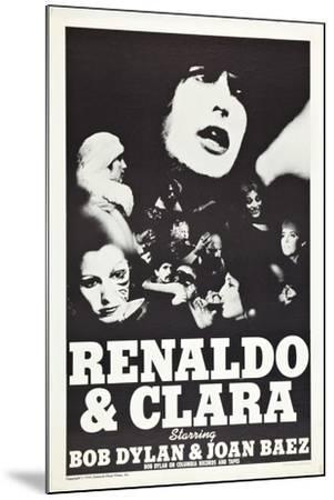 Renaldo and Clara--Mounted Art Print