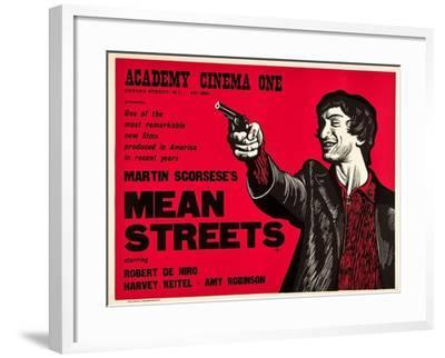 Mean Streets--Framed Art Print