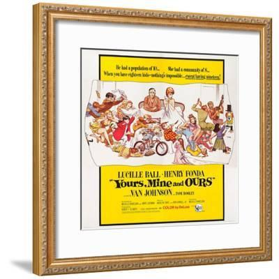 Yours, Mine and Ours--Framed Art Print