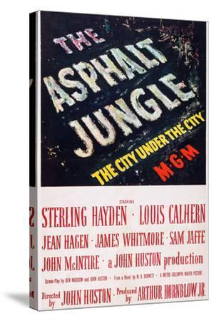 The Asphalt Jungle--Stretched Canvas Print