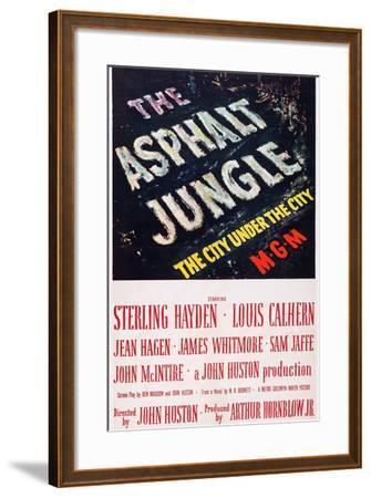 The Asphalt Jungle--Framed Art Print