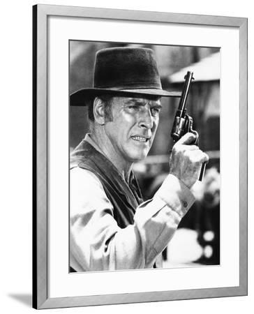 Lawman--Framed Photo