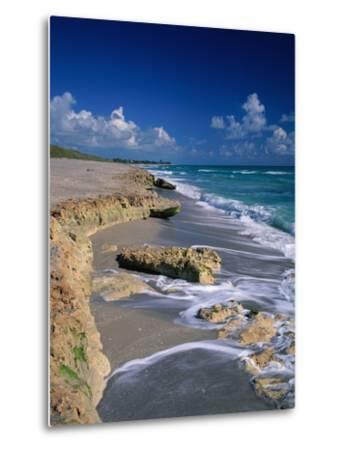 Beach on Jupiter Island-James Randklev-Metal Print
